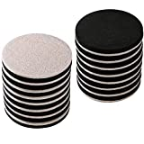 16-Pack 3.5 in.Premium Heavy Furniture Movers for Wood Floor,Felt Furniture Slider in a Reusable Tube,3.5'' Heavy Duty Felt Furniture Sliders,Furniture Mover,Reusable Furniture Moving Pads-EZHOUSE