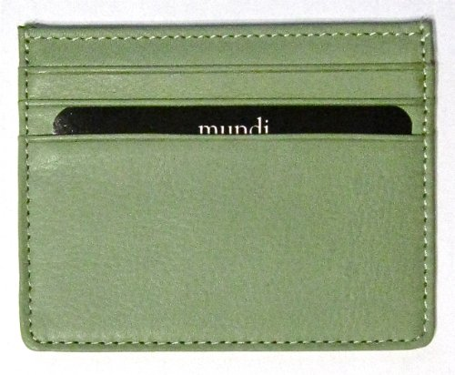 business-card-holder-mundi-super-thin-genuine-leather-credit-card-coin-pocket-pouch-sage-green