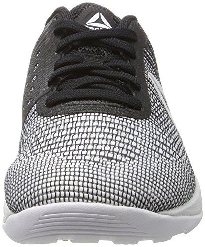 Nano Crossfit Women's Flash 7 White Multicolour Shoes Electric Fitness Reebok Black wzqE5dq