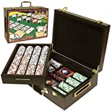 Trademark Poker 500 Capacity Poker Case with High Quality Graphics