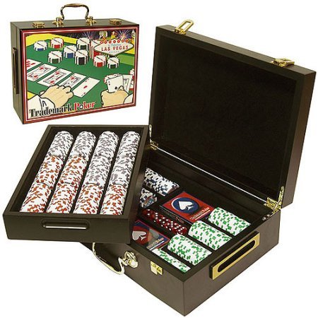 Trademark Poker 500 Capacity Poker Case with High Quality Graphics by Trademark Poker