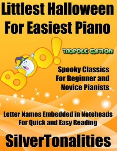 Littlest Halloween for Easiest Piano Tadpole Edition -