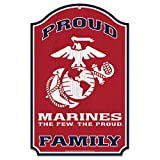 United States Military Marines Wood Signu.S. Marines Family Wood Sign 11 by 17'', Numerous, One Size