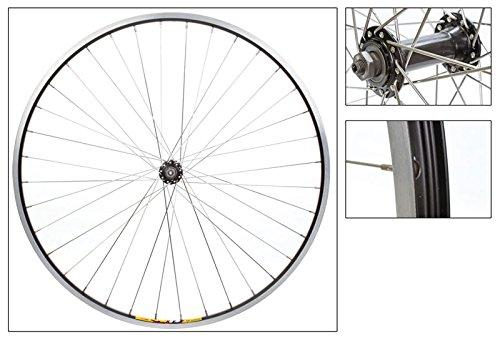 Wheel Front 700 x 35 Black/Silver WEI-ZAC19 36H
