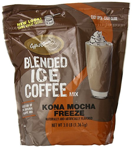Frappe Freeze Ice Blended Coffee, Kona Mocha, 3-Pound