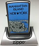 Zippo Manhattan Island New York Windproof Pocket Lighter