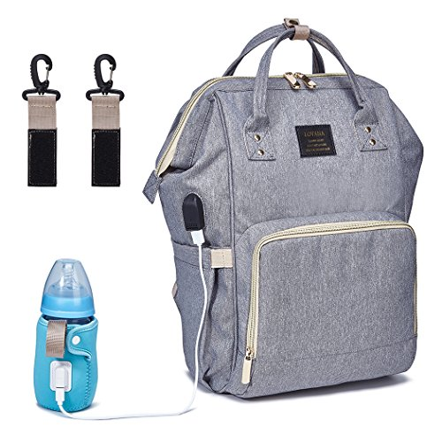 - BabyMemory Diaper Bag Multi-functional Mommy Backpack Waterproof Maternity Travel Nappy Bags with USB Charging Port for Baby Care, Fashion, Durable and Stylish