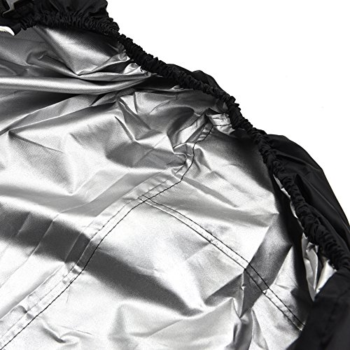 NKTM All Weather Two-Stage Snow Thrower Cover With Storage Bag (47'' L x 31'' H x 37'' W) by NKTM (Image #4)