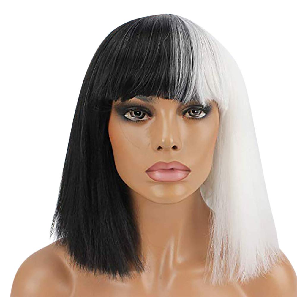 Amazon.com: YIYEZI Short Bob Wig Hair Straight