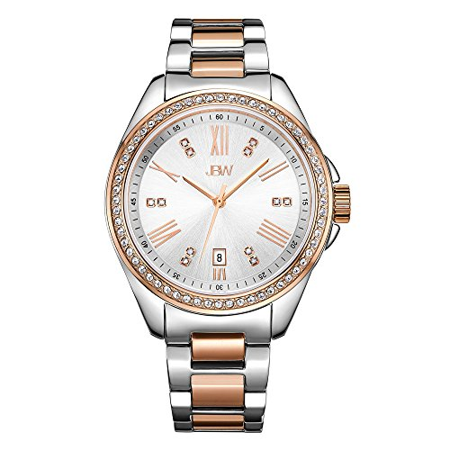 JBW Women's Capri J6340C Rose Gold Diamond Watch