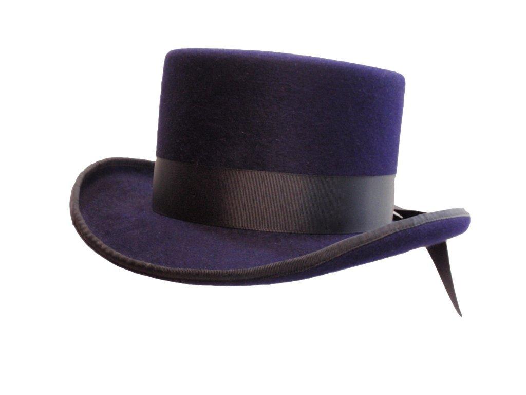 D Bar J Hat Brand, Female, Top Hat, Size 7, Purple