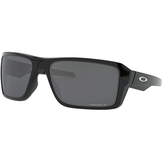 9209e9c994 Oakley Men 's doble filo polarizadas Rectangular anteojos de sol de iridio,  pulido,