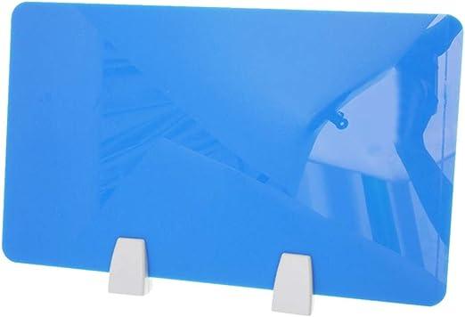 Toyvian - Separador de mesa de escritorio de acrílico con ...