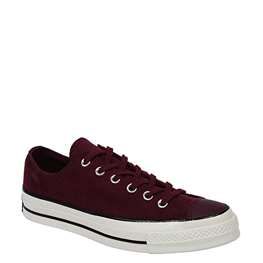 Converse Chuck Tayler All Star 70 OX Sneakers 153986C Cranberry, 5.5 (D)  Mens