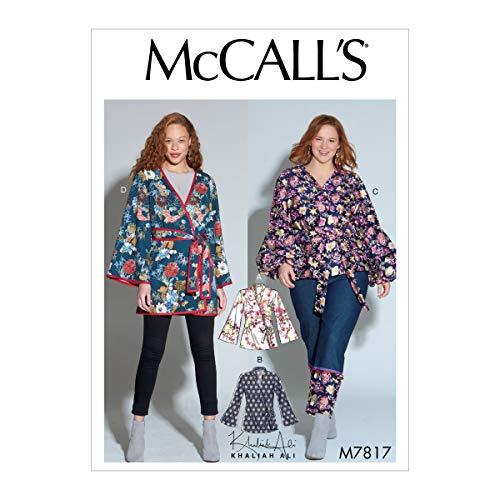 Kwik Sew M7817 Khaliah Ali Misses'/Women's Jackets RR (Sizes 18W-24W) Multi