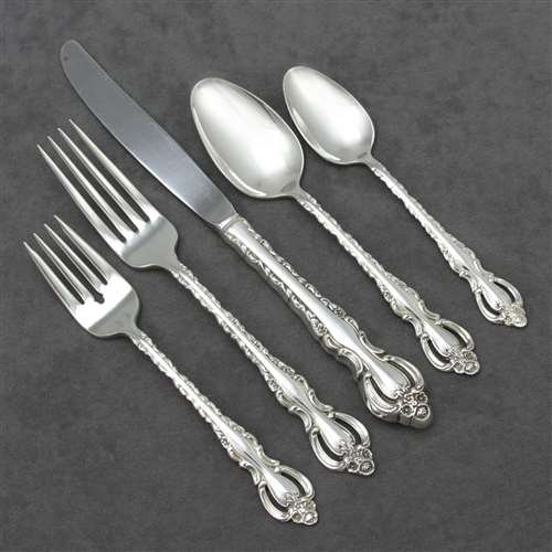 Countess by Deep Silver, Silverplate 5-PC Setting Dinner, Modern