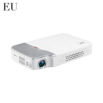 SUPERLOVE Proyector DLP Mini Proyector 1080P Compatible con ...