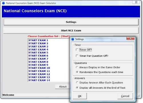 National Counselor Examination for Licensure and Certification® (NCE) 4,000 Review Questions Software for the National…