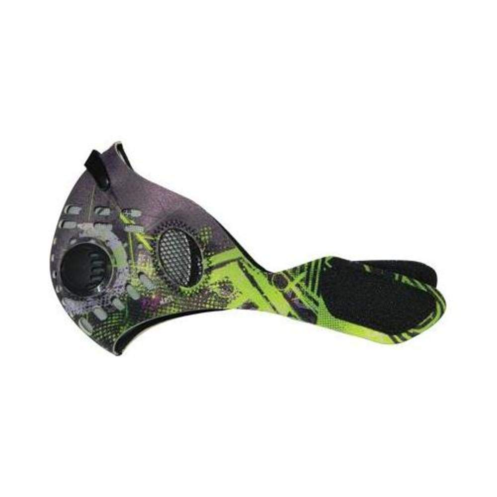 RZ Mask Dust Mask Digi Lime (Green, X-Large) by RZ Mask