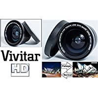 Super Wide Hi Definition Fisheye Lens For Canon EOS M3 M5 M10 (49mm or 532mm Comaptible)