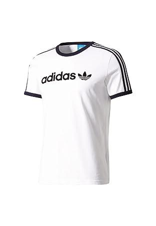 Adidas Linear tee Camiseta, Hombre, Blanco, 2XL: Amazon.es: Deportes y aire libre