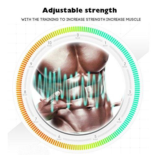 SELENECHEN Abs Stimulator Ab Toner Ab Trainer Muscle Toner Abdominal Toning Belt for Abdomen Support Men Women
