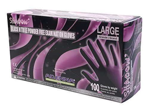 Adenna SHADOW Nitrile Powder Gloves