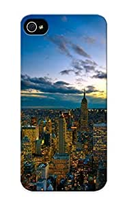 Flexible Tpu Back Case Cover For Iphone 5/5s - New Yorkunset