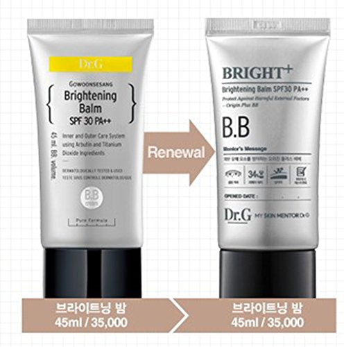 [Dr.G] Brightening Balm SPF30 PA++ 45ml InVite Health Firming Facial Toner