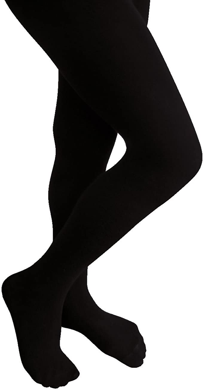 Essentials girls 3-Pack Cotton Tights Tights