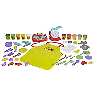 Play-Doh Kitchen Creations Super Chef Suite: Toys & Games