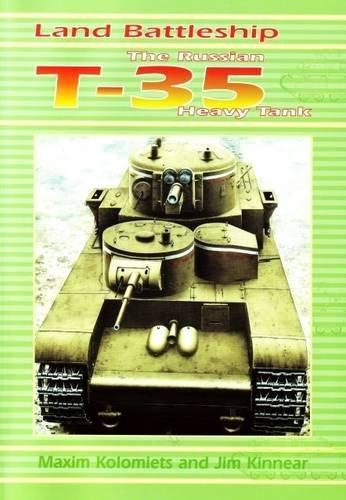 Russian T-35 Heavy Tank (T35 Russian Tank)