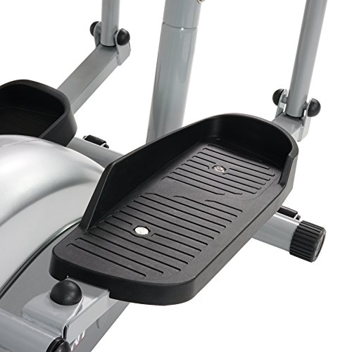 Garage gym compact magnetic elliptical machine trainer