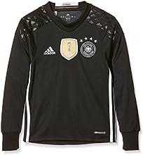 adidas DFB H GK JSY Y Camiseta 1ª Equipación-Línea Selección Alemana de Fútbol, niños, Negro/Blanco, 176