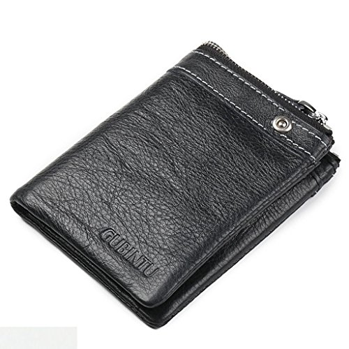 Wallets Deals Mother's B Card Vintage Valentoria Tri Cow Pocket Holder Genuine Leather Coins Men's Wallets Day Men's Capacity Short Big Fold HqdxxER