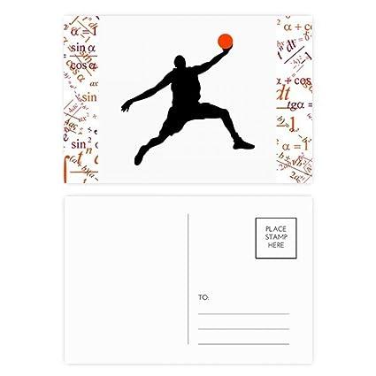 DIYthinker Mate de baloncesto Baloncesto Fórmula Salto ...