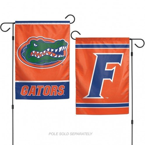 WinCraft NCAA University of Florida 12x18 Inch 2-Sided Outdoor Garden Flag Banner (Florida Gators House)