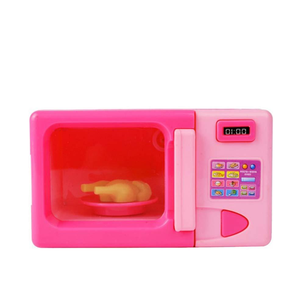 Faironly Kids Simulación Cocina Horno microondas Kit de Juguete ...