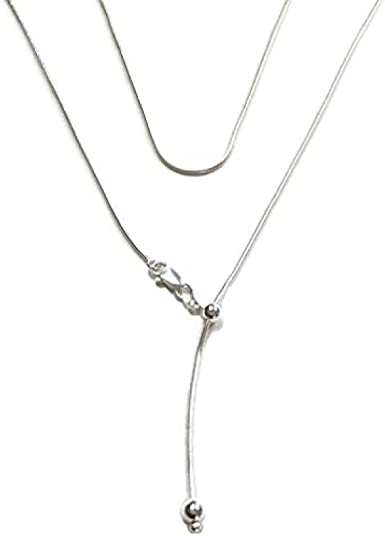 Simple Women Silver Plated Photo Locket Pendant Snake Chain Necklace Gift Conven