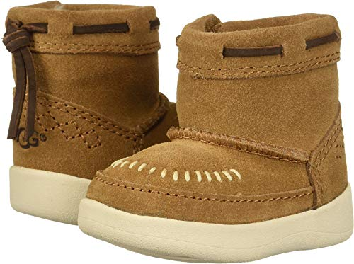 UGG Baby I Cali Moc Campfire Fashion Boot, Chestnut, 2/3 M US Infant]()