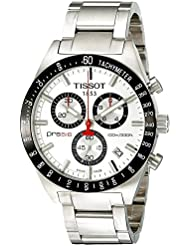Tissot T-Sport PRS516 Chronograph Brushed Silver Dial Mens watch #T044.417.21.031.00