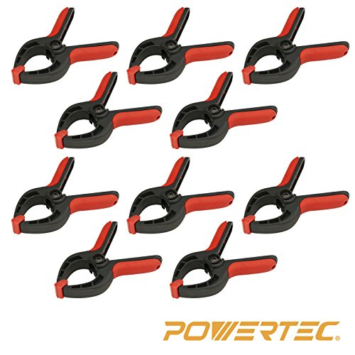 POWERTEC 71018 Mini Spring Clamps Set- 10 Piece