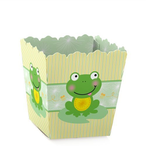Froggy Frog - Party Mini Favor Boxes - Baby Shower or Birthday Party Treat Candy Boxes - Set of 12 -