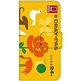 [iPhone6Plus] スマホケース 手帳型 ケース デザイン手帳 アイフォン6 プラス 8152-B. デザインB かわいい おしゃれ かっこいい 人気 柄 ケータイケース クーピー 柄 クレヨン 柄 クレパス 柄