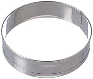 Norpro 3776 Stainless Steel English Muffin Rings, Set of 4