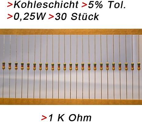 Metallschicht-Widerstand 180 Ohm 1/% 0,6W Bauform 0207 gegurtet