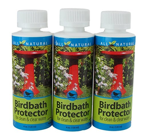 3 Pack 4 Oz Care Free Enzymes Birdbath Protector Made in USA 95521D