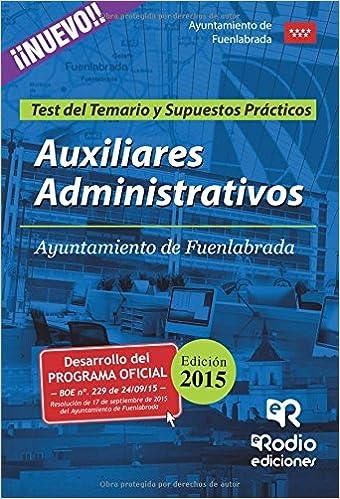 Amazon.com: Auxiliares Administrativos del Ayuntamiento de ...