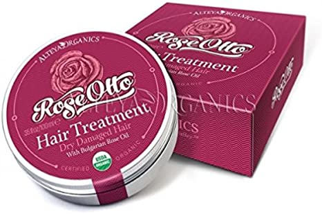 Alteya Organic Tratamiento Capilar con Rosa (Damascena) 100 ml – USDA Certificado Producto Orgánico y Natural - Tratamiento y Acondicionador Capilar Nutritivo y Estimulante Basado en Aceite Esencial d
