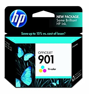 HP 901 Tri-color Original Ink Cartridge (CC656AN) from HP